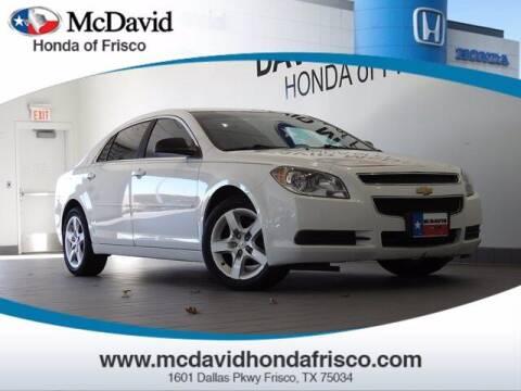 2012 Chevrolet Malibu for sale at DAVID McDAVID HONDA OF IRVING in Irving TX