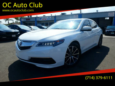 2015 Acura TLX for sale at OC Auto Club in Midway City CA