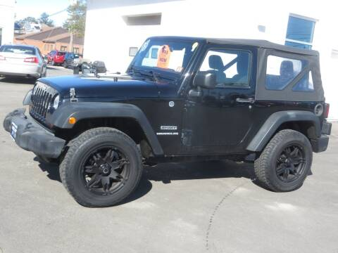 2013 Jeep Wrangler for sale at Price Auto Sales 2 in Concord NH