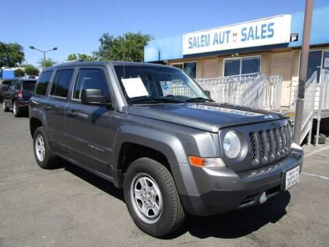 2014 Jeep Patriot for sale at Salem Auto Sales in Sacramento CA