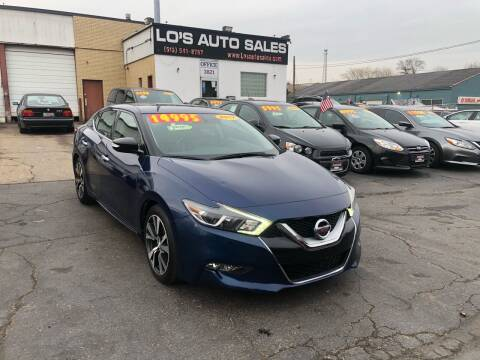 2017 Nissan Maxima for sale at Lo's Auto Sales in Cincinnati OH