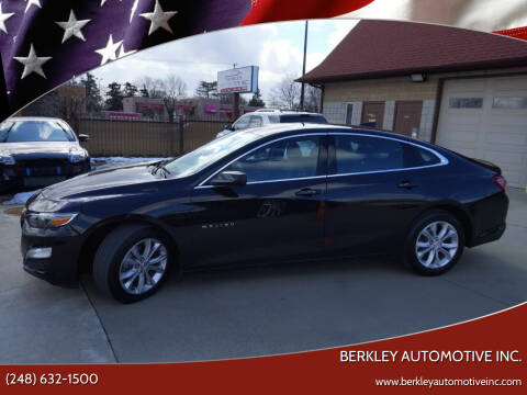 2019 Chevrolet Malibu for sale at Berkley Automotive Inc. in Berkley MI