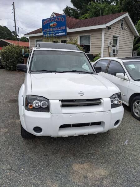 2004 Nissan Frontier for sale at Delgato Auto in Pittsboro NC