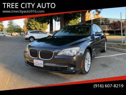 2009 BMW 7 Series for sale at TREE CITY AUTO in Rancho Cordova CA