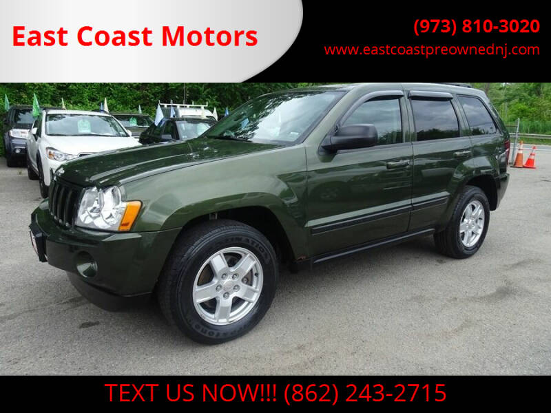 2007 Jeep Grand Cherokee for sale at East Coast Motors in Lake Hopatcong NJ