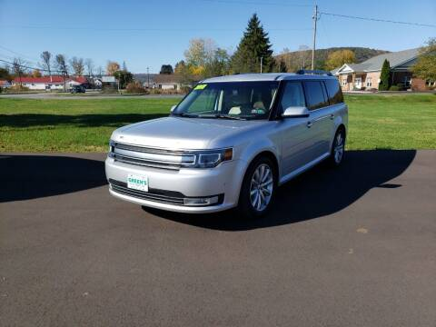 2018 Ford Flex for sale at Greens Auto Mart Inc. in Wysox PA