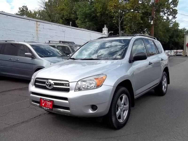 2007 Toyota RAV4 for sale at 1st Choice Auto Sales in Fairfax VA