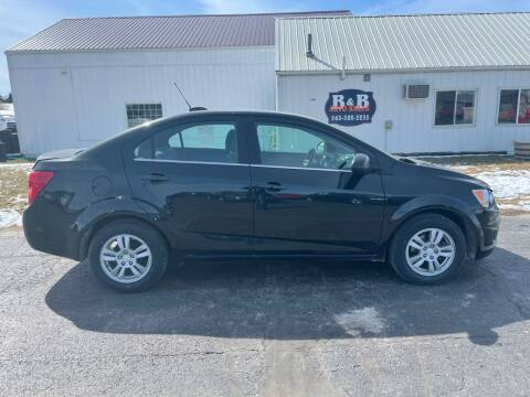 2015 Chevrolet Sonic for sale at B & B Sales 1 in Decorah IA