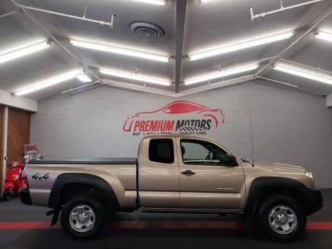 2008 Toyota Tacoma for sale at Premium Motors in Villa Park IL