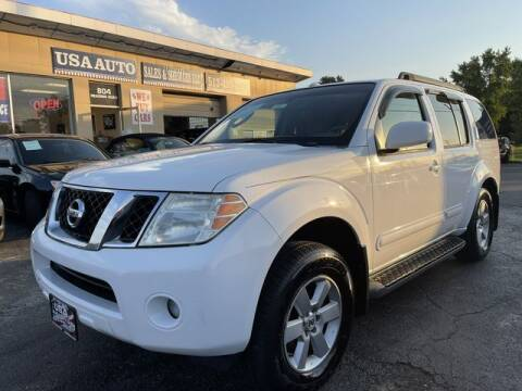 2008 Nissan Pathfinder for sale at USA Auto Sales & Services, LLC in Mason OH