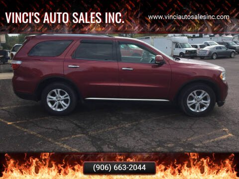 2013 Dodge Durango for sale at Vinci's Auto Sales Inc. in Bessemer MI