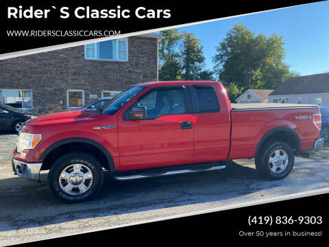 2009 Ford F-150 for sale at Rider`s Classic Cars in Millbury OH