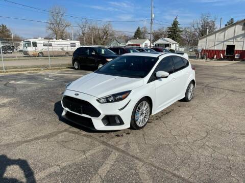 2017 Ford Focus for sale at Dean's Auto Sales in Flint MI