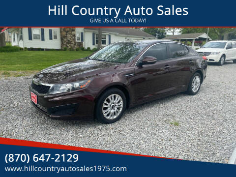 2011 Kia Optima for sale at Hill Country Auto Sales in Maynard AR