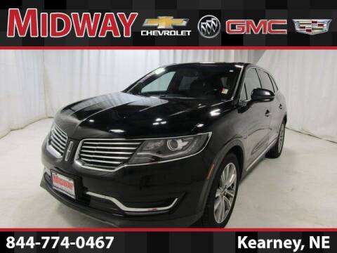 2017 Lincoln MKX for sale at Midway Auto Outlet in Kearney NE