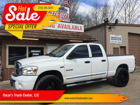2008 Dodge Ram Pickup 1500 for sale at Oscar's Truck Center, LLC in Houston TX