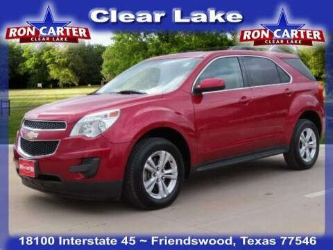 2015 Chevrolet Equinox for sale at Ron Carter  Clear Lake Used Cars in Houston TX