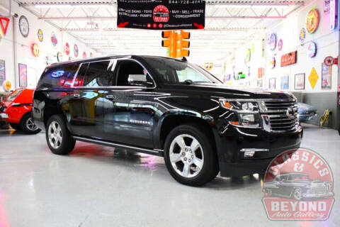 2018 Chevrolet Suburban for sale at Classics and Beyond Auto Gallery in Wayne MI