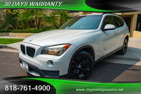 2013 BMW X1 for sale at Prestige Auto Sports Inc in North Hollywood CA
