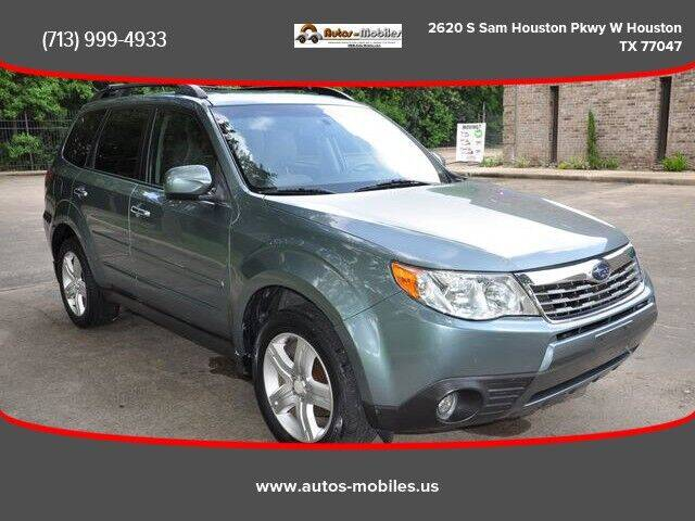 2009 Subaru Forester for sale at AUTOS-MOBILES in Houston TX