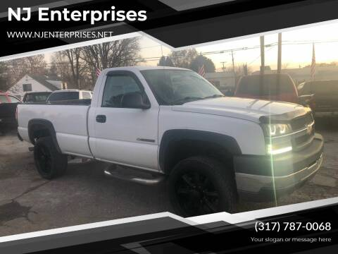 2004 Chevrolet Silverado 2500HD for sale at NJ Enterprises in Indianapolis IN