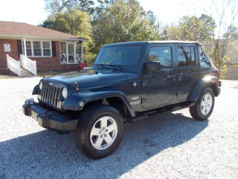 2007 Jeep Wrangler Unlimited for sale at Carolina Auto Connection & Motorsports in Spartanburg SC