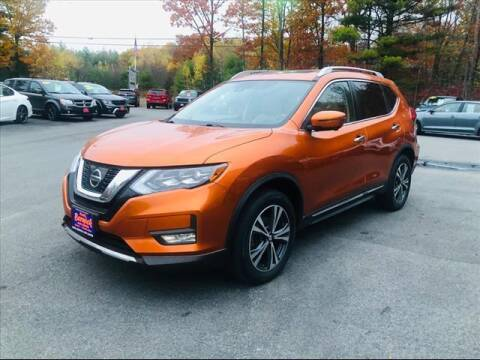 2017 Nissan Rogue for sale at North Berwick Auto Center in Berwick ME