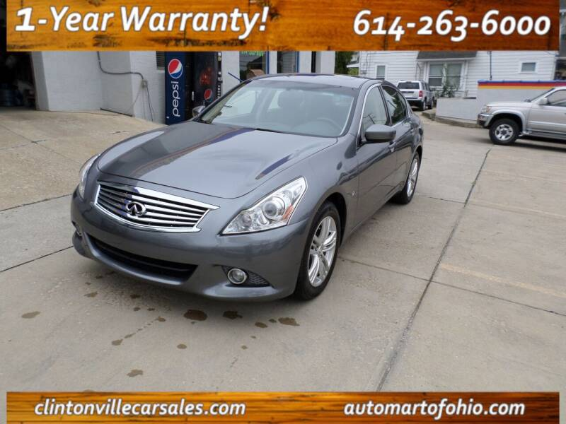 2015 Infiniti Q40 for sale at Clintonville Car Sales in Columbus OH