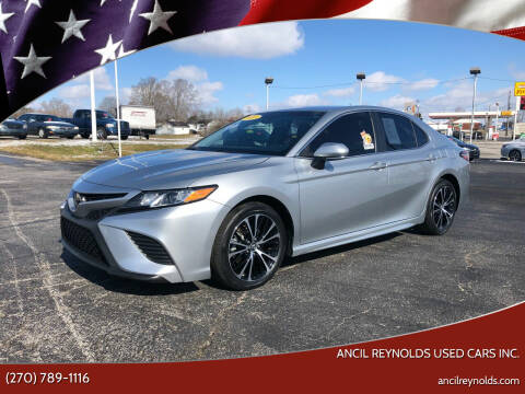 2018 Toyota Camry for sale at Ancil Reynolds Used Cars Inc. in Campbellsville KY