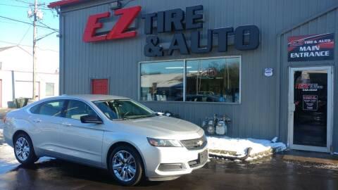 2016 Chevrolet Impala for sale at EZ Tire & Auto in North Tonawanda NY