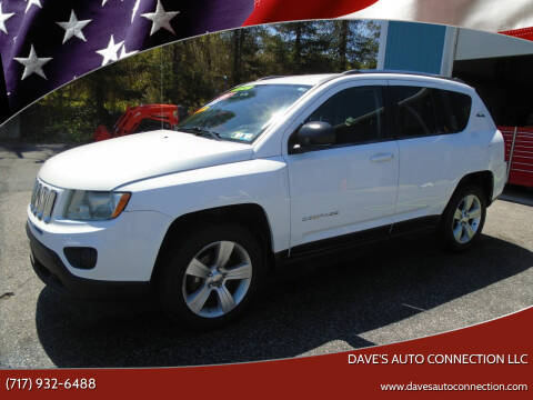 2012 Jeep Compass for sale at Dave's Auto Connection LLC in Etters PA
