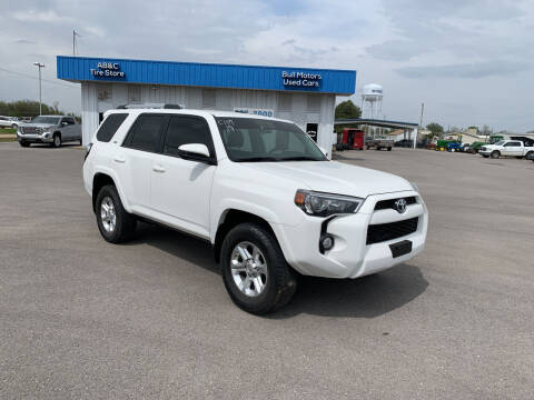 2019 Toyota 4Runner for sale at BULL MOTOR COMPANY in Wynne AR