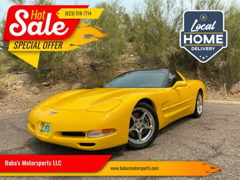 2003 Chevrolet Corvette for sale at Baba's Motorsports, LLC in Phoenix AZ