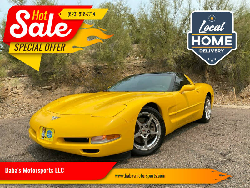 2003 Chevrolet Corvette for sale at Baba's Motorsports, LLC in Phoenix AZ