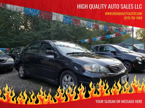 2005 Toyota Corolla for sale at High Quality Auto Sales LLC in Bloomingdale NJ