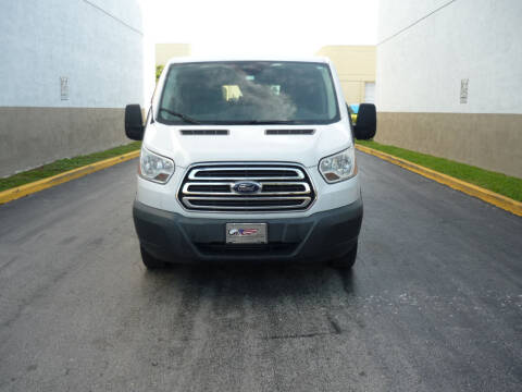 2015 Ford Transit Passenger for sale at INTERNATIONAL AUTO BROKERS INC in Hollywood FL