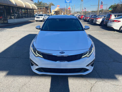 2020 Kia Optima for sale at J Franklin Auto Sales in Macon GA