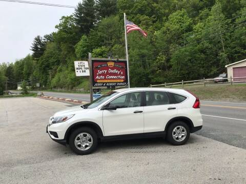 2016 Honda CR-V for sale at Jerry Dudley's Auto Connection in Barre VT