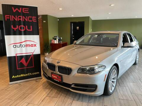 2014 BMW 5 Series for sale at AutoMax in West Hartford CT