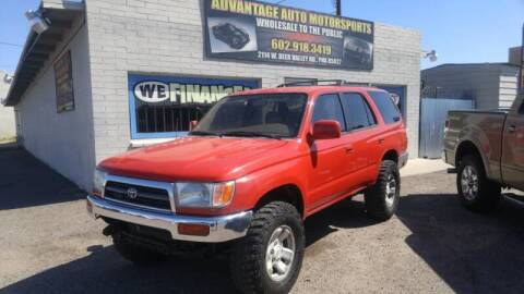 1996 Toyota 4Runner for sale at Advantage Motorsports Plus in Phoenix AZ