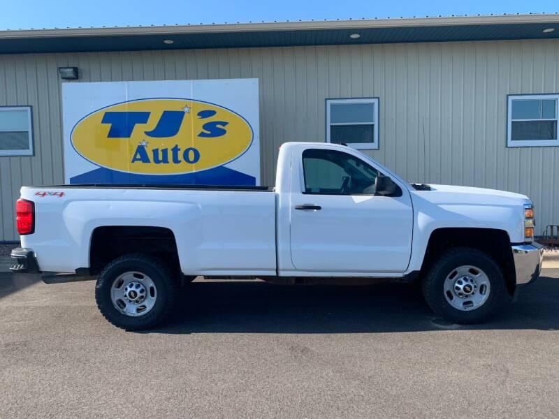 2015 Chevrolet Silverado 2500HD for sale at TJ's Auto in Wisconsin Rapids WI