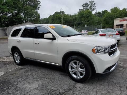 2012 Dodge Durango for sale at Import Plus Auto Sales in Norcross GA