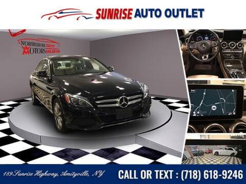 2017 Mercedes-Benz C-Class for sale at Sunrise Auto Outlet in Amityville NY
