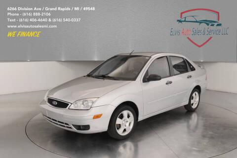 2007 Ford Focus for sale at Elvis Auto Sales LLC in Grand Rapids MI