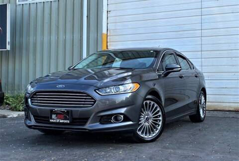 2016 Ford Fusion for sale at Haus of Imports in Lemont IL
