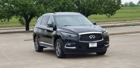 2016 Infiniti QX60 for sale at America's Auto Financial in Houston TX