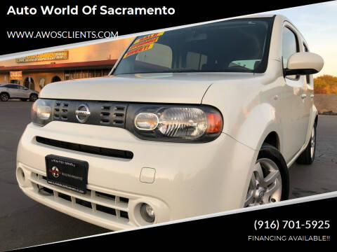 2011 Nissan cube for sale at Auto World of Sacramento Stockton Blvd in Sacramento CA