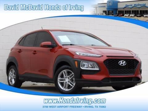 2019 Hyundai Kona for sale at DAVID McDAVID HONDA OF IRVING in Irving TX