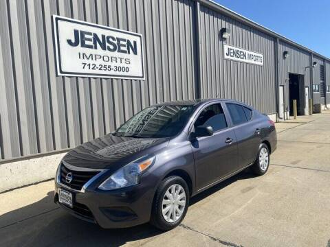 2015 Nissan Versa for sale at Jensen's Dealerships in Sioux City IA