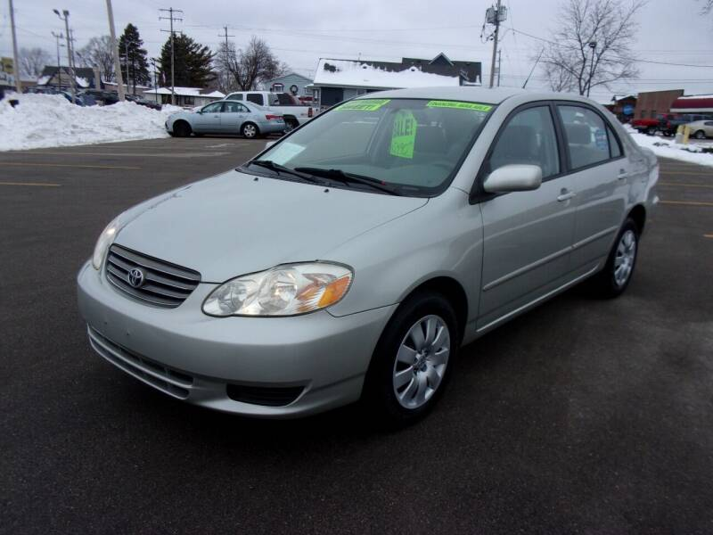 2004 Toyota Corolla for sale at Ideal Auto Sales, Inc. in Waukesha WI